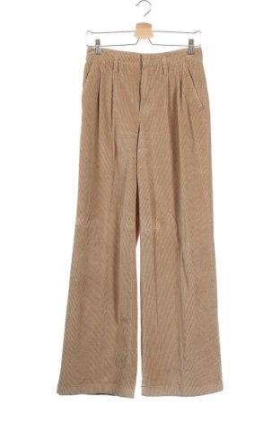 Дамски джинси Oui, Размер XS, Цвят Бежов, 98% памук, 2% еластан, Цена 35,25лв.
