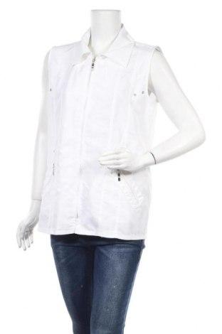 Γυναικείο γιλέκο Malva, Μέγεθος M, Χρώμα Λευκό, Πολυεστέρας, Τιμή 4,94€