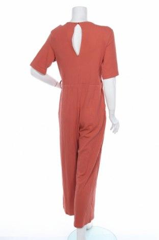Дамски гащеризон Even&Odd, Размер L, Цвят Оранжев, 95% памук, 5% еластан, Цена 31,27лв.