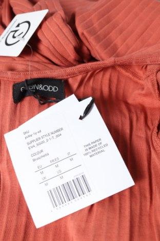 Дамски гащеризон Even&Odd, Размер M, Цвят Оранжев, 95% памук, 5% еластан, Цена 31,27лв.