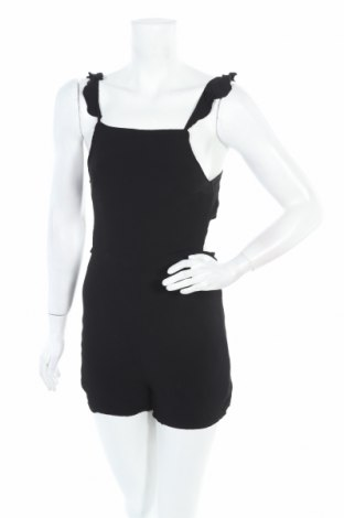 Дамски гащеризон Fashion nova, Размер S, Цвят Черен, Вискоза, Цена 16,38лв.