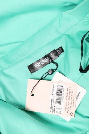 Дамски гащеризон Missguided, Размер L, Цвят Зелен, 90% полиестер, 10% еластан, Цена 25,92лв.