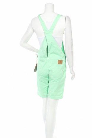 Дамски гащеризон Please, Размер S, Цвят Зелен, 98% памук, 2% еластан, Цена 50,70лв.