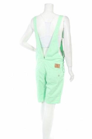 Дамски гащеризон Please, Размер M, Цвят Зелен, 98% памук, 2% еластан, Цена 50,70лв.
