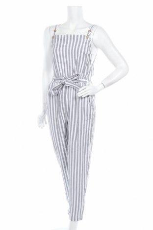 Дамски гащеризон Roxy, Размер XS, Цвят Сив, 100% памук, Цена 57,12лв.