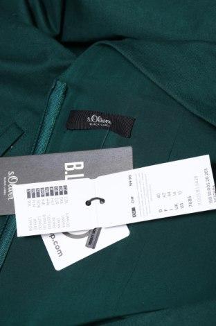 Дамски гащеризон S.Oliver, Размер L, Цвят Зелен, 55% лен, 45% памук, Цена 66,72лв.