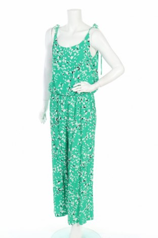 Дамски гащеризон Selected Femme, Размер M, Цвят Зелен, Вискоза, Цена 67,16лв.