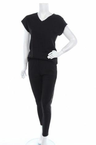 Дамски гащеризон Soya Concept, Размер XS, Цвят Черен, 95% полиестер, 5% еластан, Цена 29,50лв.