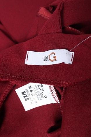 Дамски гащеризон Wal G, Размер XS, Цвят Червен, 95% полиестер, 5% еластан, Цена 18,60лв.