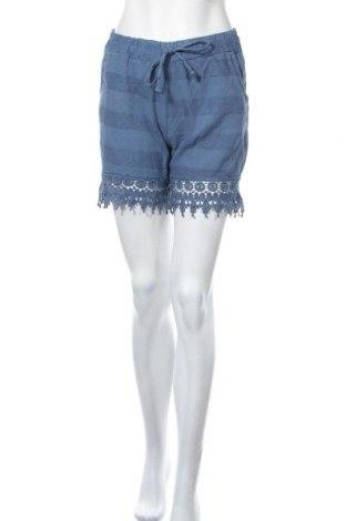 Γυναικείο κοντό παντελόνι, Μέγεθος S, Χρώμα Μπλέ, Βαμβάκι, Τιμή 3,41€