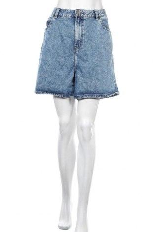 Γυναικείο κοντό παντελόνι ASOS, Μέγεθος XL, Χρώμα Μπλέ, Βαμβάκι, Τιμή 16,46€