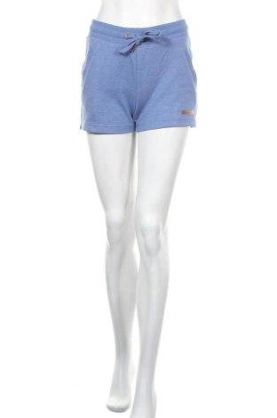 Дамски къс панталон Bench, Размер S, Цвят Син, 60% памук, 40% полиестер, Цена 36,75лв.