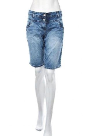 Γυναικείο κοντό παντελόνι Cecil, Μέγεθος XL, Χρώμα Μπλέ, 97% βαμβάκι, 3% ελαστάνη, Τιμή 11,04€