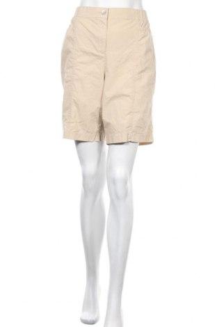 Дамски къс панталон Chico's, Размер L, Цвят Бежов, 98% памук, 2% еластан, Цена 22,84лв.