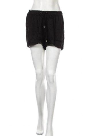 Γυναικείο κοντό παντελόνι Cubus, Μέγεθος L, Χρώμα Μαύρο, Βισκόζη, Τιμή 6,43€