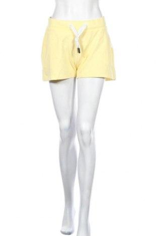 Γυναικείο κοντό παντελόνι Elbsand, Μέγεθος XL, Χρώμα Κίτρινο, 67% βαμβάκι, 33% πολυεστέρας, Τιμή 17,07€