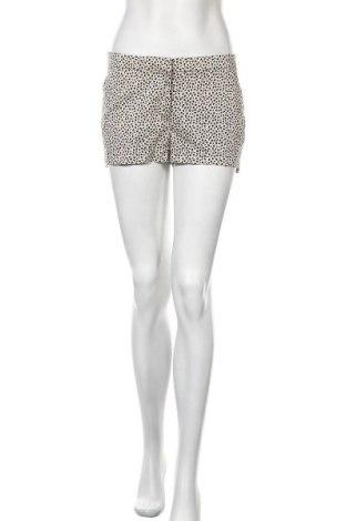 Γυναικείο κοντό παντελόνι H&M, Μέγεθος S, Χρώμα  Μπέζ, 98% βαμβάκι, 2% ελαστάνη, Τιμή 9,35€