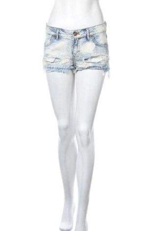 Γυναικείο κοντό παντελόνι H&M, Μέγεθος M, Χρώμα Μπλέ, Βαμβάκι, Τιμή 7,80€