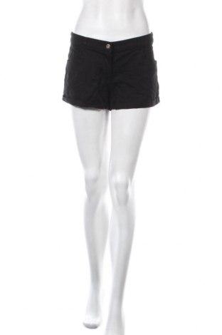 Γυναικείο κοντό παντελόνι H&M, Μέγεθος M, Χρώμα Μαύρο, 98% βαμβάκι, 2% ελαστάνη, Τιμή 10,49€
