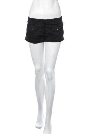 Дамски къс панталон H&M Divided, Размер M, Цвят Черен, Памук, Цена 6,83лв.