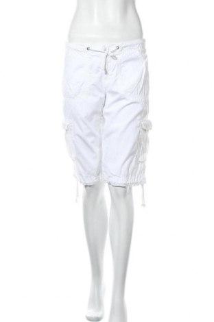 Γυναικείο κοντό παντελόνι H&M L.O.G.G., Μέγεθος M, Χρώμα Λευκό, Βαμβάκι, Τιμή 5,55€