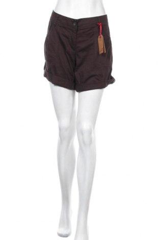 Дамски къс панталон Kangaroos, Размер XL, Цвят Сив, Памук, Цена 35,77лв.