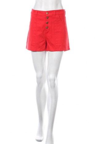 Γυναικείο κοντό παντελόνι Mod Cloth, Μέγεθος L, Χρώμα Κόκκινο, 98% βαμβάκι, 2% ελαστάνη, Τιμή 9,94€