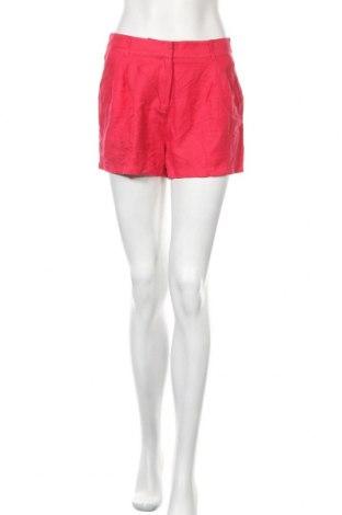 Γυναικείο κοντό παντελόνι Monoprix Autre Ton, Μέγεθος M, Χρώμα Ρόζ , 44% λινό, 31% βαμβάκι, 25% βισκόζη, Τιμή 8,22€