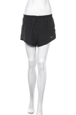 Γυναικείο κοντό παντελόνι Nike, Μέγεθος L, Χρώμα Μαύρο, Πολυεστέρας, Τιμή 19,32€