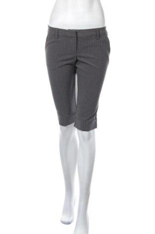 Γυναικείο κοντό παντελόνι Poetry, Μέγεθος S, Χρώμα Γκρί, 65% πολυεστέρας, 30% βισκόζη, 5% ελαστάνη, Τιμή 12,25€