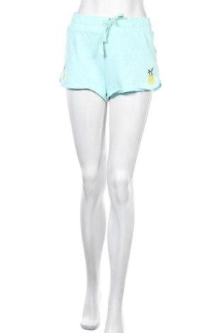 Γυναικείο κοντό παντελόνι Primark, Μέγεθος M, Χρώμα Μπλέ, 60% βαμβάκι, 40% πολυεστέρας, Τιμή 9,94€
