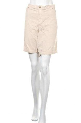 Дамски къс панталон Reitmans, Размер XXL, Цвят Бежов, 98% памук, 2% еластан, Цена 16,80лв.
