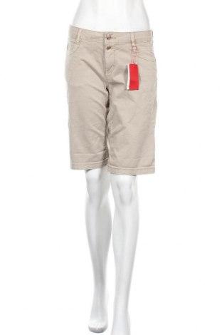 Дамски къс панталон S.Oliver, Размер XS, Цвят Бежов, Памук, Цена 41,40лв.