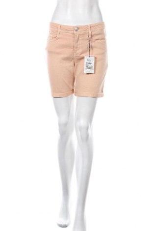 Γυναικείο κοντό παντελόνι Soya Concept, Μέγεθος S, Χρώμα  Μπέζ, 74% βαμβάκι, 24% πολυεστέρας, 2% ελαστάνη, Τιμή 9,55€