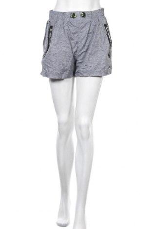 Γυναικείο κοντό παντελόνι Superdry, Μέγεθος M, Χρώμα Γκρί, Πολυεστέρας, Τιμή 9,35€