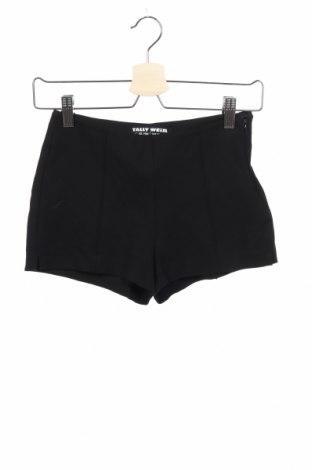 Γυναικείο κοντό παντελόνι Tally Weijl, Μέγεθος XS, Χρώμα Μαύρο, 69% βισκόζη, 27% πολυαμίδη, 4% ελαστάνη, Τιμή 3,18€