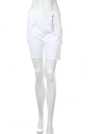 Дамски къс панталон Urban Heritage, Размер S, Цвят Бял, 98% памук, 2% еластан, Цена 8,40лв.