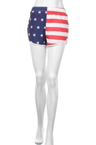 Γυναικείο κοντό παντελόνι Uzzi, Μέγεθος M, Χρώμα Πολύχρωμο, Πολυεστέρας, Τιμή 8,22€