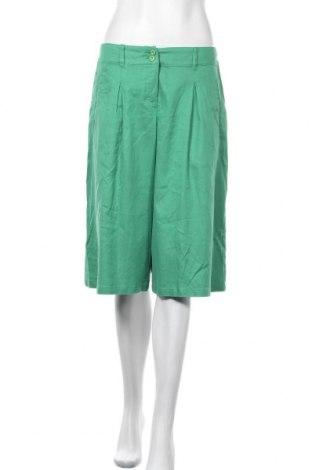 Дамски къс панталон Walbusch, Размер M, Цвят Зелен, Цена 17,75лв.