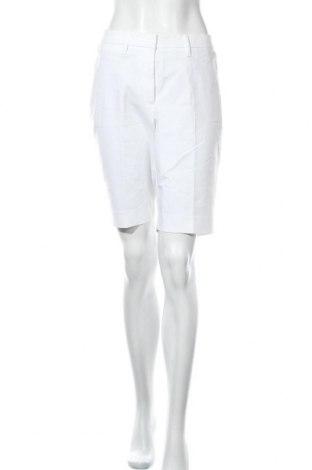Дамски къс панталон White House / Black Market, Размер M, Цвят Бял, 67% памук, 29% полиестер, 4% еластан, Цена 81,90лв.