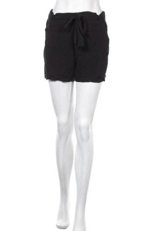 Γυναικείο κοντό παντελόνι Yessica, Μέγεθος M, Χρώμα Μαύρο, Βισκόζη, Τιμή 8,31€