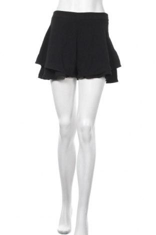 Γυναικείο κοντό παντελόνι Zara, Μέγεθος M, Χρώμα Μαύρο, Πολυεστέρας, Τιμή 6,59€