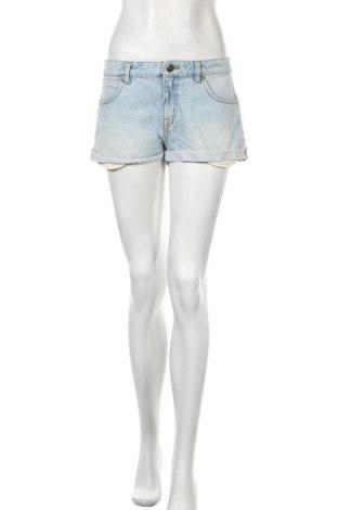 Γυναικείο κοντό παντελόνι Zoul, Μέγεθος M, Χρώμα Μπλέ, Βαμβάκι, Τιμή 11,59€
