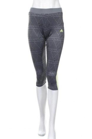 Γυναικείο κολάν Adidas, Μέγεθος S, Χρώμα Γκρί, 91% πολυεστέρας, 9% ελαστάνη, Τιμή 21,04€