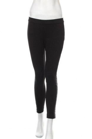 Дамски клин DKNY, Размер M, Цвят Черен, 65% вискоза, 30% полиамид, 5% еластан, еко кожа, Цена 28,50лв.