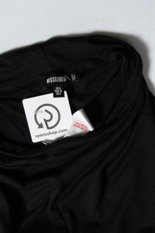 Дамски клин Missguided, Размер S, Цвят Черен, 96% вискоза, 4% еластан, Цена 28,50лв.