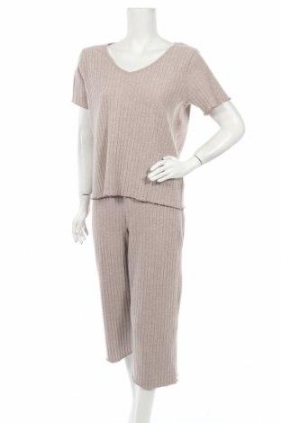 Γυναικείο σετ Anna Field, Μέγεθος L, Χρώμα Ρόζ , 65% πολυεστέρας, 32% βισκόζη, 3% ελαστάνη, Τιμή 22,81€