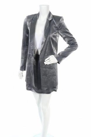 Дамски костюм ASOS, Размер S, Цвят Сив, 85% вискоза, 15% полиестер, Цена 87,72лв.