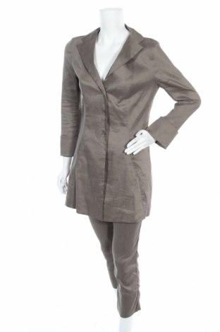 Дамски костюм Annette Gortz, Размер S, Цвят Зелен, 69% лен, 31% еластан, Цена 93,45лв.
