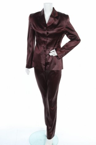 Дамски костюм Hallhuber, Размер M, Цвят Червен, 96% полиестер, 4% еластан, Цена 103,95лв.